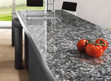 Pebble Granite Countertop by 1000 Images About Home On Pebble Floor