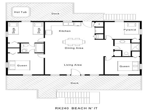 simple bungalow floor plans simple floor plans floor plans beach cottage floor plans