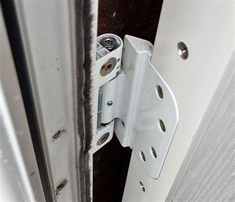 door hinge adjustment composite door catching frame help adjusting screwfix