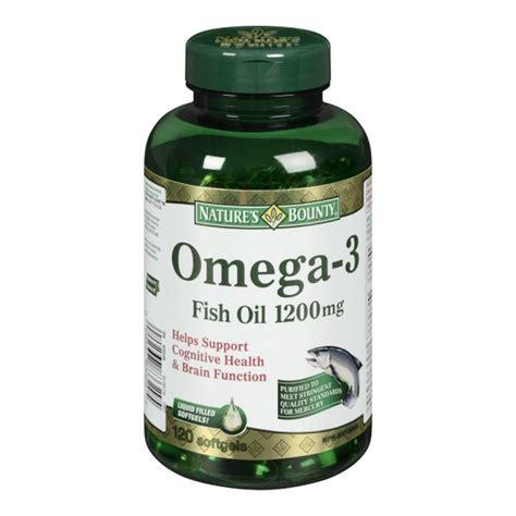 Omega 3 Omegacor Natures Health Omega 3 Epa Dha Tertinggi 1 buy nature s bounty omega 3 fish in canada free shipping healthsnap ca