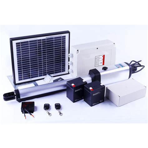 Solar Powered Garage Door Opener Automatic Swing Solar Gate Opener W Remote 350kg Buy Solar Powered Gate Openers