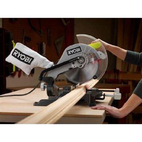 refurbished ryobi table saw ryobi zrts1345l 10 in compound miter saw with laser line