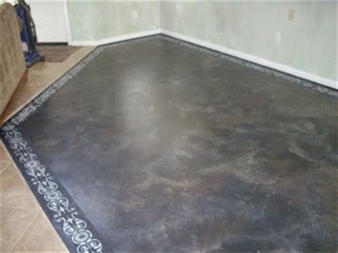 glazed concrete floor fab tutorial step by step on how to prep