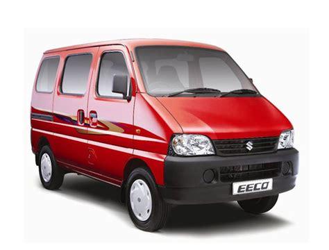 Maruti Suzuki Ecco Maruti Suzuki Eeco In India Features Reviews