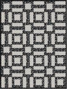 easy black and white quilt pattern fabricmomfabricmom