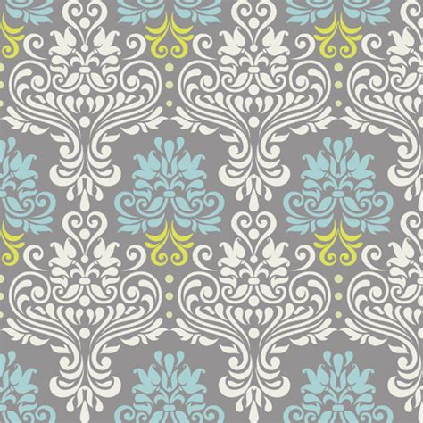 pattern vintage eps vintage floral decor pattern seamless vector vector