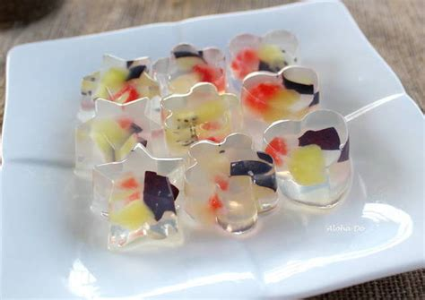 fruit jelly fruit jelly recipe by cookpad cookpad