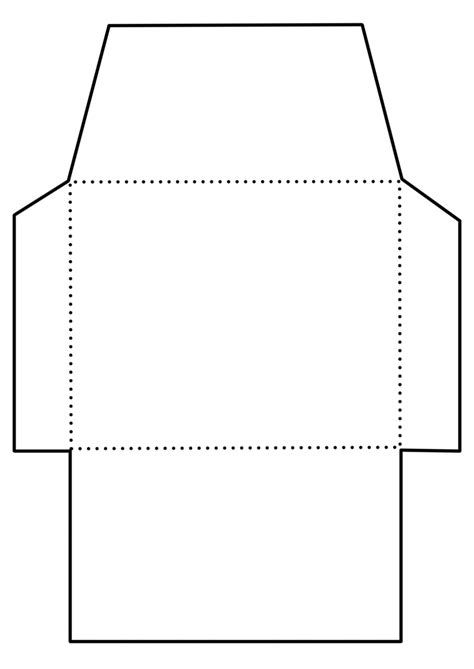 envelope pattern vector envelope template free large images