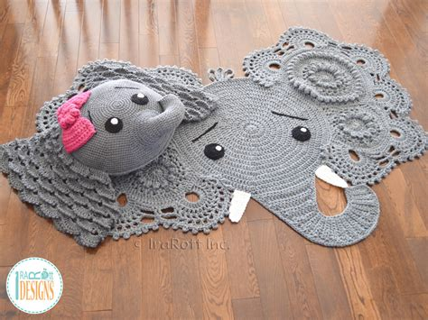 Crochet Elephant Rug Buy by Josefina And Jeffery Crochet Elephant Rug 2017 Pattern