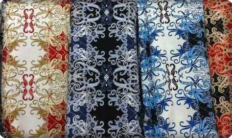 Kain Batik Semisutra Halus Murah terjual kain batik kalimantan bahan semi kaskus