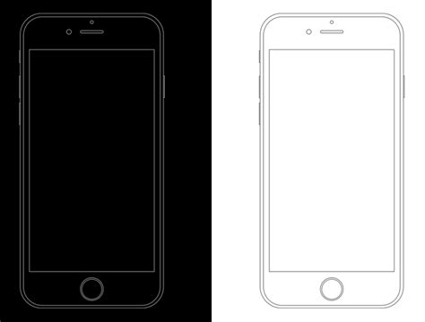 free minimal apple iphone 6s wireframe templates psd titanui