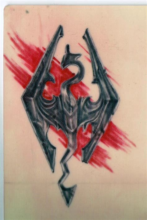 skyrim tattoo the skyrim i am going to get skyrim