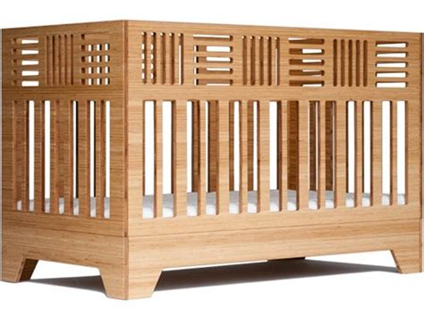 eco friendly io crib from kalon studios can be used until