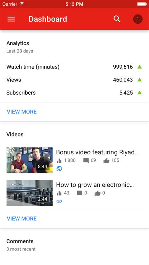 download youtube creator studio youtube creator studio now lets you watch your videos in