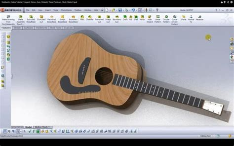 solidworks tutorial how to make guitar 18 best solidworks images on pinterest solidworks