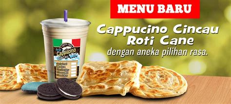 design banner roti banner cappucino cincau and roti cane by edwinnurhadi on