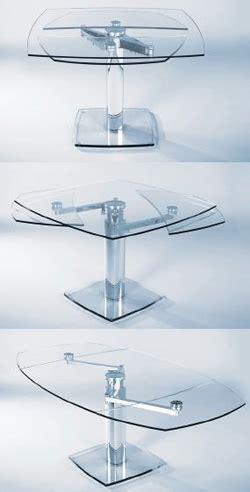 tavoli da pranzo in cristallo allungabili tavolo allungabile per l arredamento della cucina o