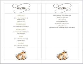 Free Menu Templates by Thanksgiving Menu Template Thanksgiving Menu Templates Free