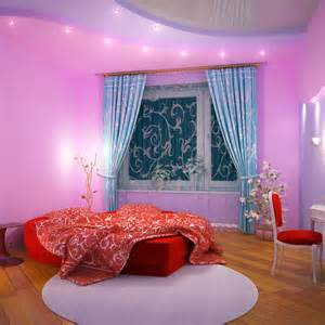 Girls Pink And Purple Bedroom - single woman home ideas make your house a home femside com