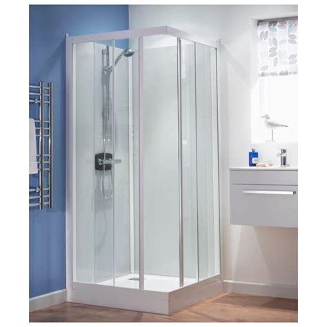 A 700 Shower by Kinedo Kineprime Glass 700 X 700mm Corner Slider Shower