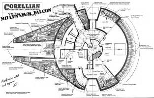 millennium falcon floor plan millennium falcon s plans i made a lot of special