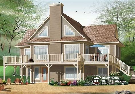 4 bedroom house plans with walkout basement house plan w3958 detail from drummondhouseplans