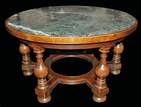 Marble Top Coffee Table For Sale Walnut Marble Top Coffee Table For Sale Antiques Classifieds
