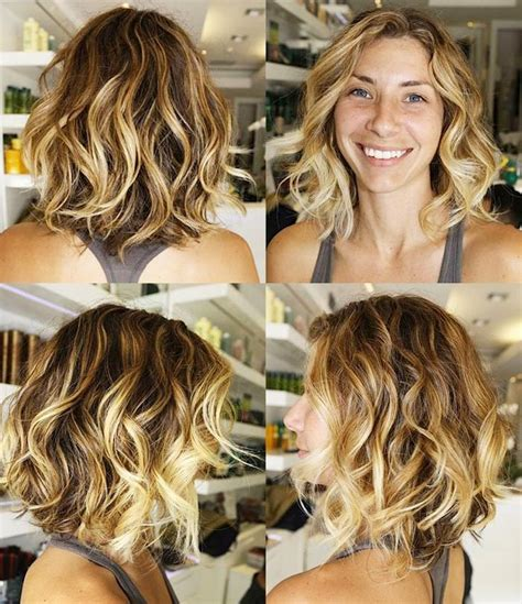 hairstyles for fine dry hair 15 inspirations of blow dry short curly hair