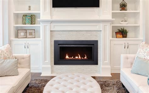 Langley Fireplace by The Langley 36 Direct Vent Linear Electric Fireplace