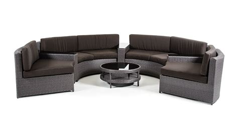 modern circular sectional shore modern circular sectional sofa patio set