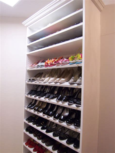 Shoe Shelf Closet by Custom Shoe Storage Jacksonville