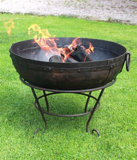 Firepits Uk Indian Bowl With Rack And Ash Rake By Firepits Uk Notonthehighstreet