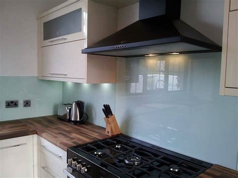 Metal Kitchen Backsplash Tiles made to measure coloured acrylic splashbacks