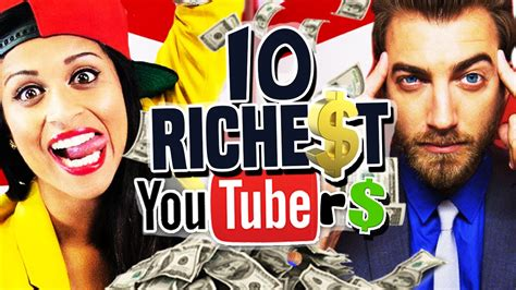 10 highest paid youtubers doovi