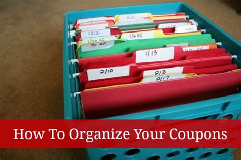 Just Cabinets Coupons by How To Organize Your Coupons Whole Insert Filing Method