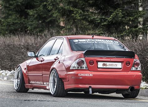 lexus altezza is300 clinched lexus is300 toyota altezza widebody kit