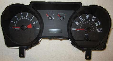 automotive repair manual 2002 ford mustang instrument cluster 2006 2007 ford mustang instrument cluster repair 4 0l 4 gauge 120 mph 7000 rpm