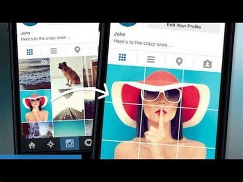 membuat foto instagram nyambung cara buat foto instagram nyambung rapih android 1