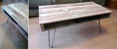diy metal coffee table legs diy pallet coffee table with hairpin legs 99 pallets