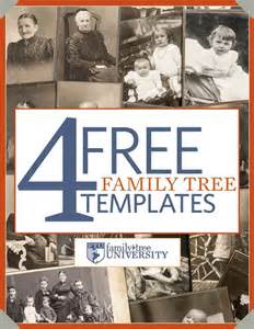 Family History Book Template by Our Free Genealogy E Book 4 Free Family Tree