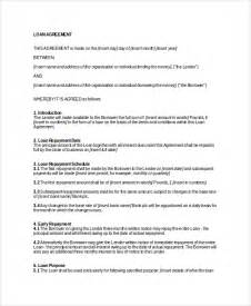 business agreements templates business loan agreement template helloalive