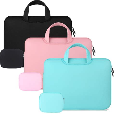 notebook laptop sleeve carry bag handbag for mac macbook air pro 11 13 15 quot ebay