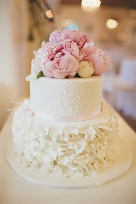 Best 25 One Tier Cake Emejing 2 Layer Wedding Cake Images Styles Ideas 2018