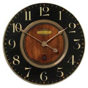 Extra Large Wall Clock Extra Large Wall Clock Uttermost Alexandre Martinot