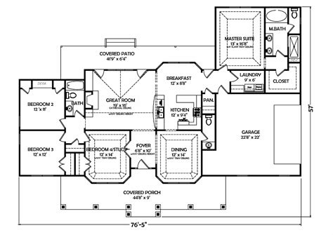 Design Floor Plans For Homes | 3 bedroom ranch house plans home plan design ideas home 15