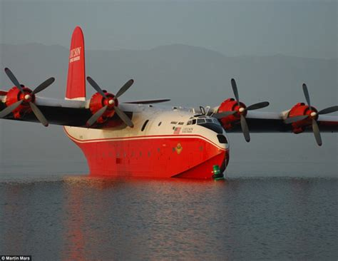 flying boat airplane world s largest water bomber plane with a 200 foot