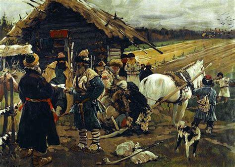 russian peasants 19th century serfdom in russia wikipedia