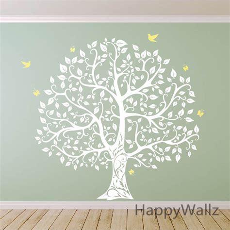 Sticker Wallpaper Dinding Photo Tree aliexpress buy large tree wall sticker bird tree wall decal diy decorating family tree