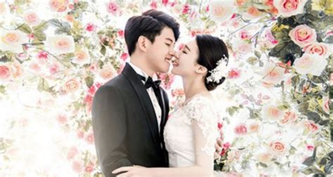 Wedding Pictorial by Dongho Reveals Blissful Wedding Pictorial Photos Soompi
