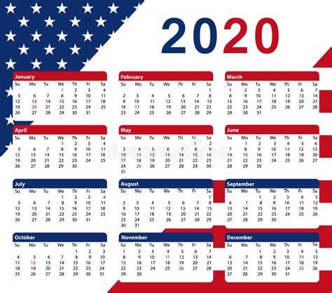 january month calendar  english usa stock vector illustration  office monday